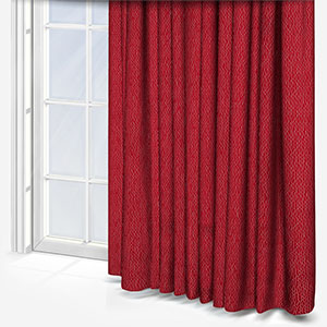 Camengo Rayonnement Rouge Curtain