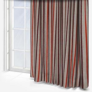 Costa Rica Tissus Rayures Pumkin Curtain