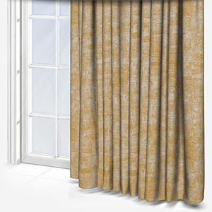 Effect Texture Jaune Curtain