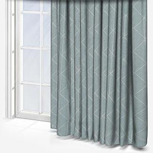 Ohio Tissus Erosion Bleu Curtain