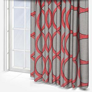 Ohio Tissus Mousse Corail Curtain
