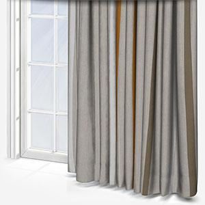 Ohio Tissus Rayure Jaune Curtain