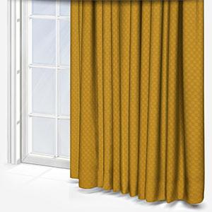 Tissus Berlin Damier Jaune Curtain