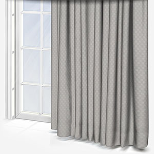 Tissus Berlin Damier Perle Curtain