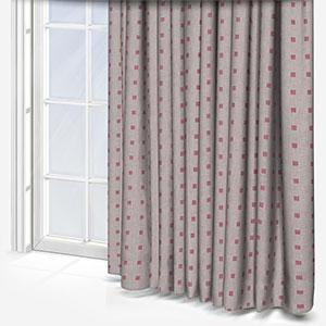 Tissus Berlin Pastilles Fuschia Curtain
