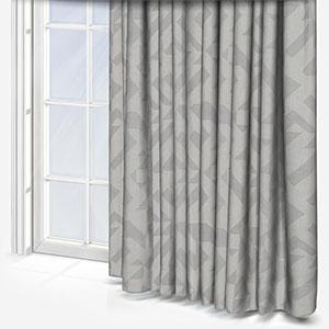 Tissus Berlin Puzzle Gris Curtain