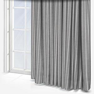Tissus Manosque Rythme Gris Curtain
