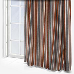 Tissus Manosque Rythme Nude Curtain