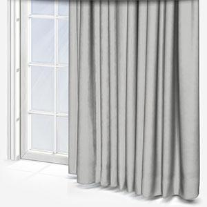 Tissus Manosque Slow Blanc Curtain