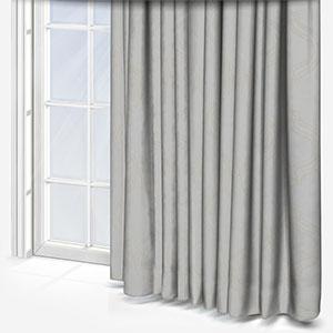 Tissus Manosque Volute Blanc Curtain