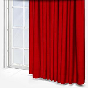 Clarke & Clarke Linoso Flame Curtain
