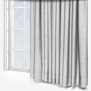 Clarke & Clarke Oro Silver Curtain