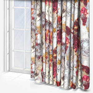 Edinburgh Weavers Cecilia Raspberry Curtain