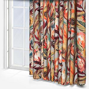 Edinburgh Weavers Ophilia Russet Curtain