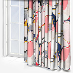 Edinburgh Weavers Riviera Coral Curtain