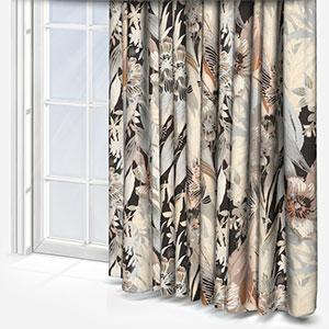 Edinburgh Weavers Tahiti Monochrome Curtain