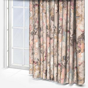 Edinburgh Weavers Utopia Blush Curtain