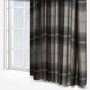 Balmoral Charcoal Curtain