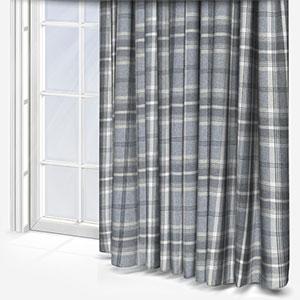 Fryetts Balmoral Dove grey Curtain