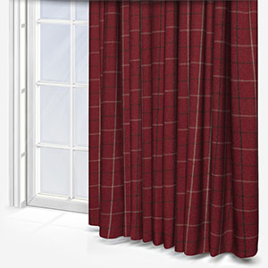 Fryetts Bamburgh Red Curtain