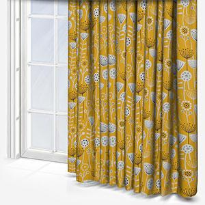 Bergen Ochre Curtain