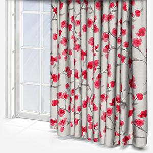 Fryetts Como Cherry Curtain