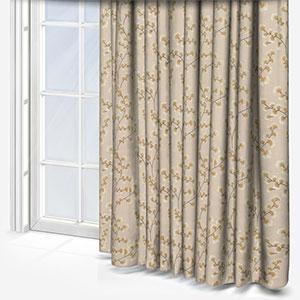 Fryetts Haiku Ochre Curtain