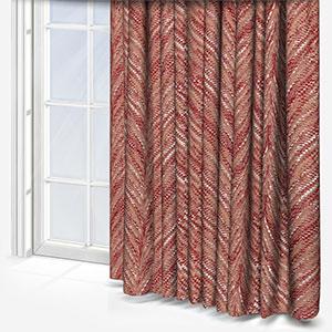 Fryetts Luxor Rosso Curtain
