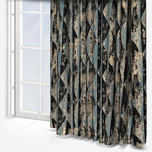 Fryetts Mystique Teal Curtain