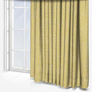 Fryetts Spotty Ochre Curtain