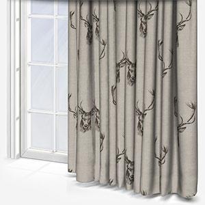 Fryetts Stag Grey Curtain