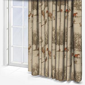 Tatton Autumn Curtain