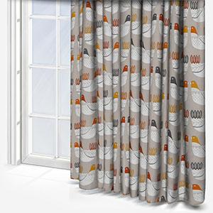 iLiv Cluck Cluck Tangerine Curtain