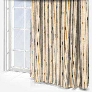 iLiv Nomad Saffron Curtain