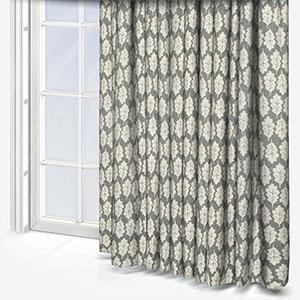 iLiv Oak Leaf Pewter Curtain