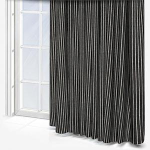 iLiv Pencil Stripe Ebony Curtain