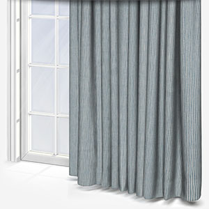 Pinstripe Wedgewood Curtain