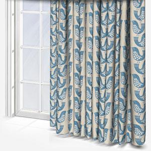 iLiv Scandi Birds Capri Curtain