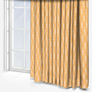Olivia Bard Mahal Ground Saffron Curtain