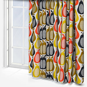 Orla Kiely Scribble Pear Multi Curtain