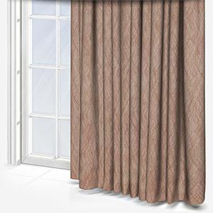 Prestigious Textiles Afterglow Umber Curtain