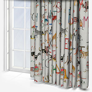 Animal Alphabet Paintbox Curtain