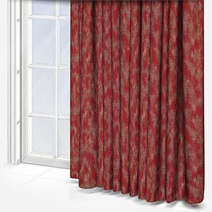 Arlo Cranberry Curtain
