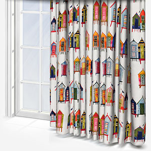 Beach Hut Neapolitan Curtain