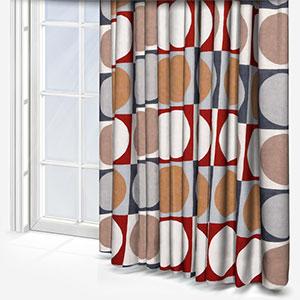 Prestigious Textiles Domino Tabasco Curtain