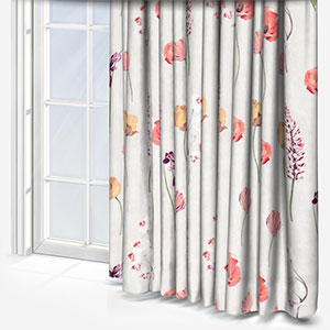Prestigious Textiles Flower Press Peach Blossom Curtain