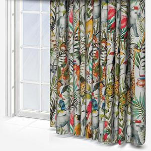 King of the Jungle Safari Curtain