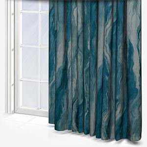 Lava Teal Curtain