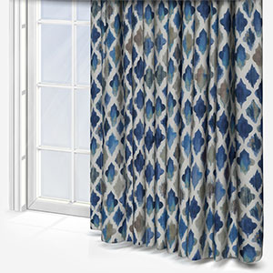 Monsoon Indigo Curtain