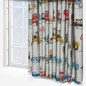 On the Road Paintbox Curtain